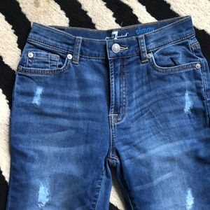 NWOT! Boys 7 for all mankind jeans Sz 10